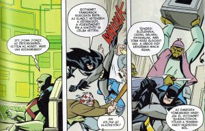 three-panel conversation between J'onn and Batman